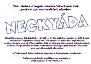 Pozvánka na Neckyádu 2013