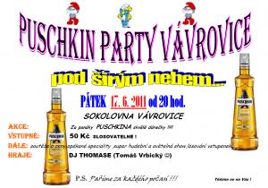 Sokolovna poškin párty